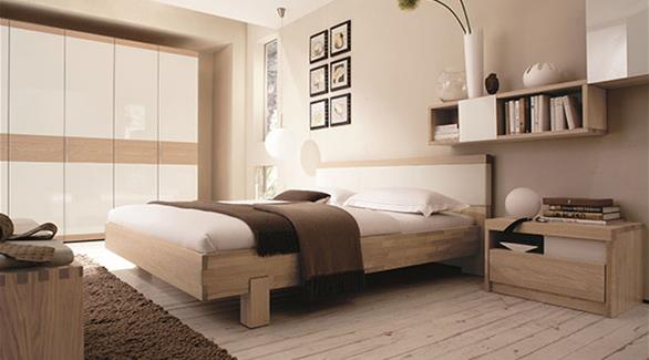 تجهيزات غرف النوم المريحة..ألوان هادئة وإضاءة دافئة
