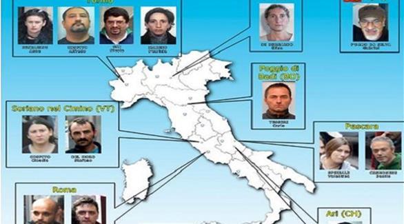 إيطاليا: تفكيك شبكات إرهابية وفوضوية متطرفة في 9 مدن