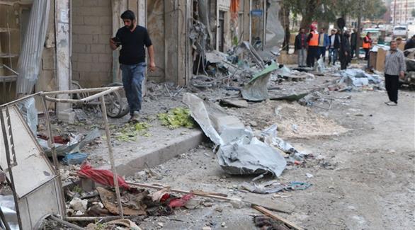 اخبار الامارات العاجلة 0201609070150547 مقتل 10 أشخاص بقصف تركي على مدينة تادف السورية أخبار عربية و عالمية