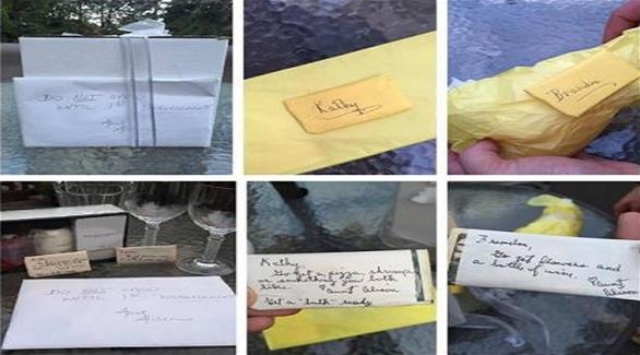 اخبار الامارات العاجلة 0201609080140556 زوجان يفتحان هدية الزفاف بعد 9 سنوات أخبار متنوعة  اخبار متنوعة