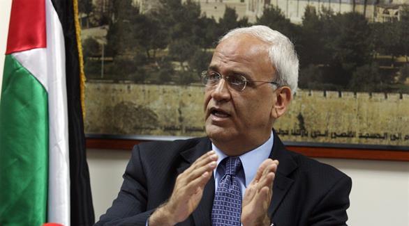 عريقات: الحكومة الإسرائيلية العقبة الرئيسية أمام السلام