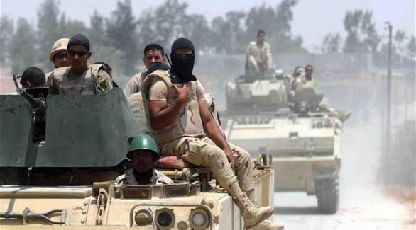 القوات المسلحة المصرية تكتشف تجمعاً لداعش في سيناء