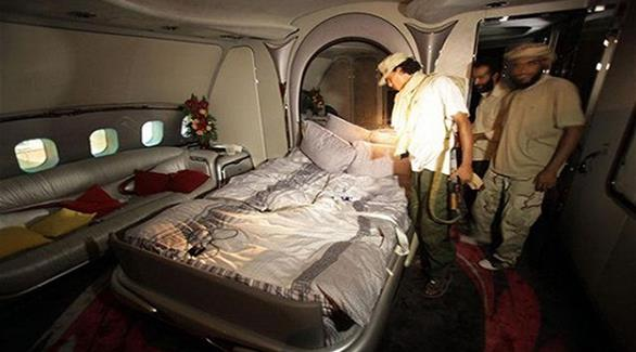 ليبيا: الخرافي الكويتية تُلغي حجز طائرة القذافي وتخطط لمصادرة أموال أخرى