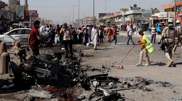 اخبار الامارات العاجلة 0201609101203557 ارتفاع حصيلة قتلى انفجار مول النخيل في بغداد إلى 10 أشخاص أخبار عربية و عالمية