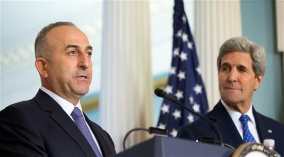 أوغلو وكيري يبحثان اتفاق الهدنة في سوريا