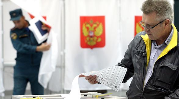 الروس يصوتون في أول انتخابات برلمانية منذ ضم القرم