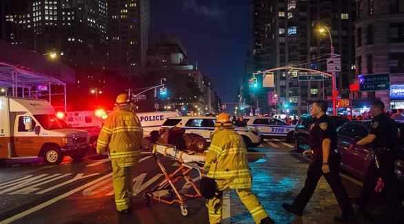 """اخبار الامارات العاجلة 0201609191013287 رئيس بلدية نيويورك يؤكد أن التفجير الذي هز المدينة """"عمل إرهابي"""" أخبار عربية و عالمية"""
