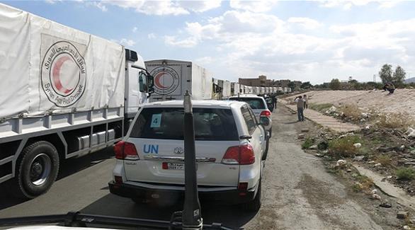 روسيا تزعم أن شاحنة مسلحة رافقت قافلة المساعدات في سوريا