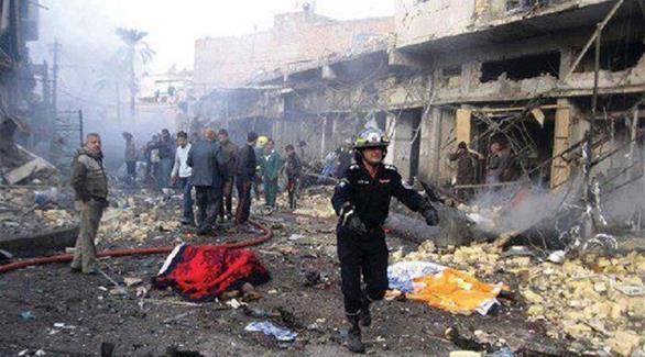 مقتل وإصابة 8 عراقيين في انفجار شمالي بغداد