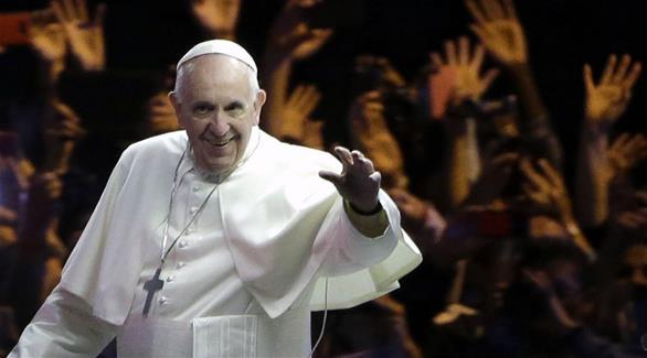 البابا فرنسيس يستقبل عائلات ضحايا هجوم نيس