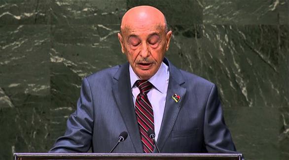 عقيلة صالح: الحكومة المؤقتة هي الشرعية
