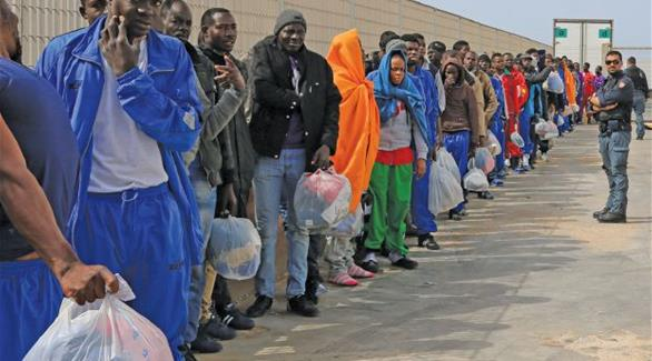 منظمات غير حكومية تدين ترحيل إيطاليا لمهاجرين على الطريقة النازية