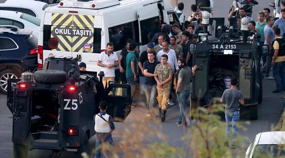 تركيا: اعتقال 32 ألفاً بإطار التحقيقات في محاولة الانقلاب
