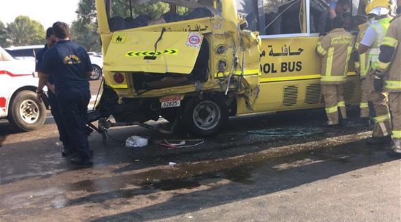 أبوظبي للتعليم: نتعاون مع الشرطة وشركة صحة لمتابعة طلاب حادث الحافلات