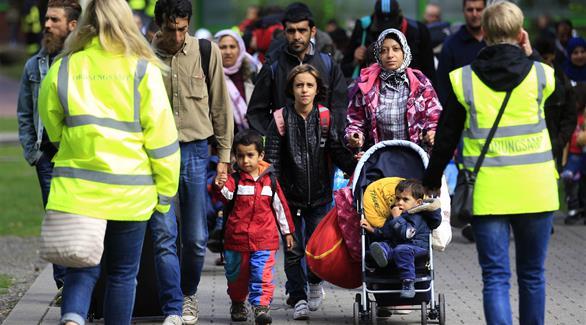 ألمانيا استقبلت 890 ألف لاجئ العام الماضي