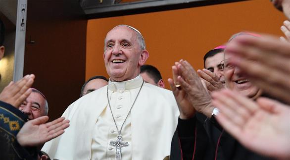البابا فرنسيس يوجه من جورجيا انتقاداً مستتراً لروسيا
