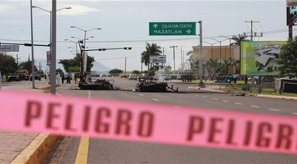 هجوم على قافلة عسكرية وتحرير سجين في المكسيك