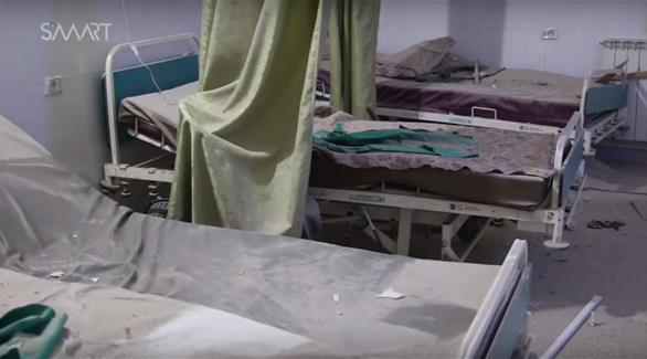 توقف الخدمة بمستشفى تعرض للقصف في حلب بـقنابل عنقودية