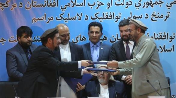 اخبار الامارات العاجلة 0201610011113707 التعاون الإسلامي ترحب بتوقيع اتفاق السلام بين الحكومة الأفغانية والحزب الإسلامي أخبار عربية و عالمية