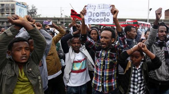اخبار الامارات العاجلة 020161002021543 شرطة إثيوبيا تطلق غاز مسيل للدموع والرصاص لتفريق محتجين أخبار عربية و عالمية
