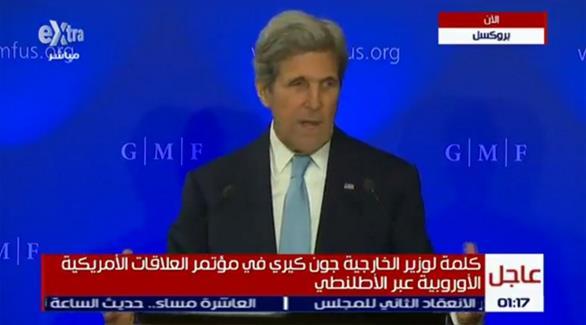كيري: قرار روسيا طائش وجهود السلام بسوريا يجب أن تستمر