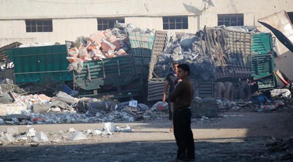 اخبار الامارات العاجلة 0201610050112122 الأمم المتحدة: قصف قافلة المساعدات في سوريا ضربة جوية أخبار عربية و عالمية
