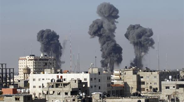 غارات إسرائيلية على مواقع تابعة للقسام شمال غزة