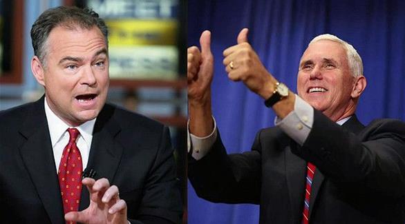 المرشحان لمنصب نائب الرئيس الأمريكي يخوضان مناظرة حامية