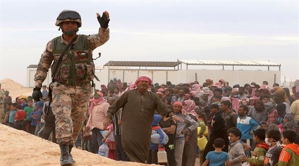 اخبار الامارات العاجلة 0201610060735877 الأمم المتحدة تسلم مساعدات للنازحين على حدود الأردن أخبار عربية و عالمية