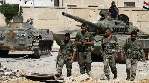 الجيش السوري يسيطر على منطقة استراتيجية جنوب غربي حلب