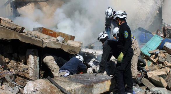 وفاة 9 سوريين من أسرة واحدة بقصف طيران يعتقد أنه تركي