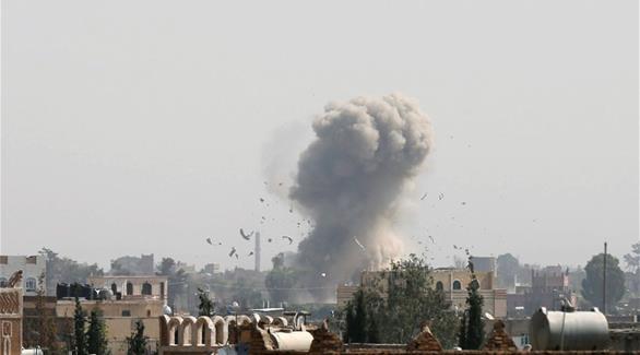 التحالف العربي يقصف مواقع الحوثيين وقوات صالح في حجة وصنعاء