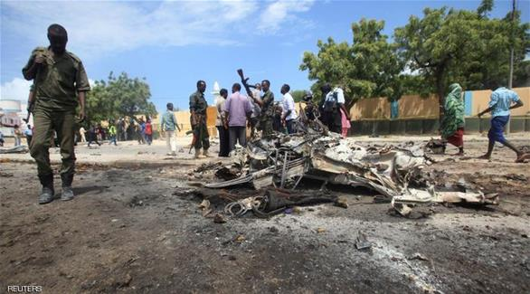 اخبار الامارات العاجلة 0201610111228183 قتلى وجرحى بانفجار سيارة مفخخة في مقديشو أخبار عربية و عالمية
