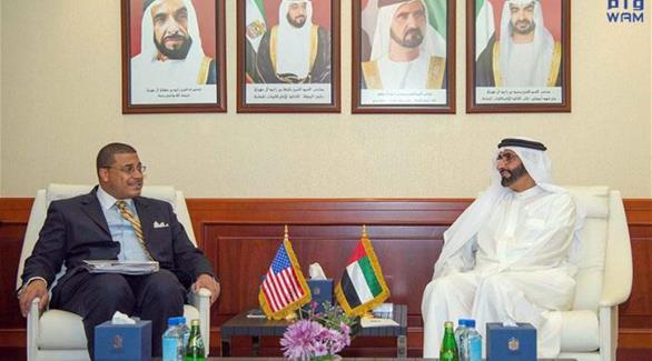 البواردي يستقبل مساعد وزير الخارجية الأمريكي لشؤون مراقبة التسليح