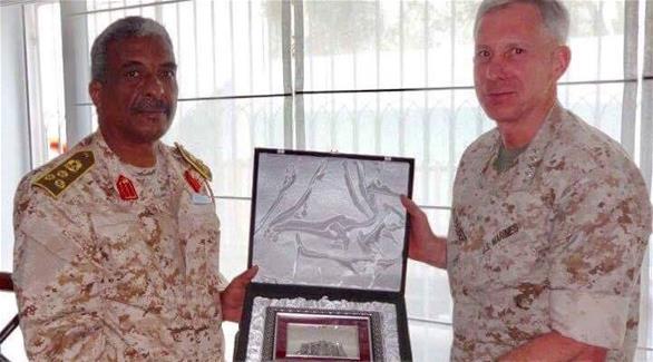 رئيس الحرس الرئاسي الليبي وقائد القوات الأمريكية بأفريقيا يبحثان التنسيق الأمني