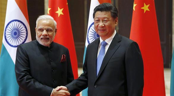 محادثات بين الصين والهند على هامش قمة بريكس