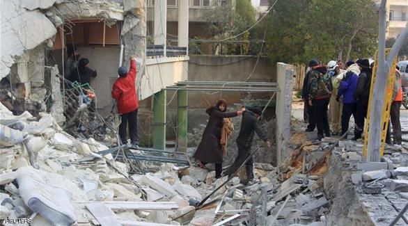 اخبار الامارات العاجلة 0201610160909561 المرصد: مقتل 20 شخصاً بقصف جوي على ريف إدلب أخبار عربية و عالمية
