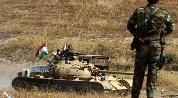 قوات البشمركة تقترب من قضاء الحمدانية في طريقها نحو الموصل