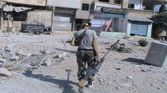 مباحثات بين الحكومة السورية والمعارضة لنقل المسلحين من معضمية الشام