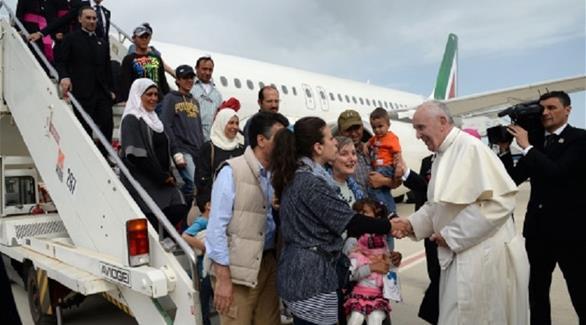 اخبار الامارات العاجلة 0201611111029554 البابا فرنسيس يرحب بالمشردين في الفاتيكان أخبار عربية و عالمية
