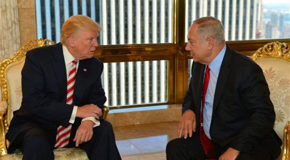 """اخبار الامارات العاجلة 0201611111253519 ترامب: """"إسرائيل"""" هي الديمقراطية الوحيدة بالشرق الأوسط أخبار عربية و عالمية"""