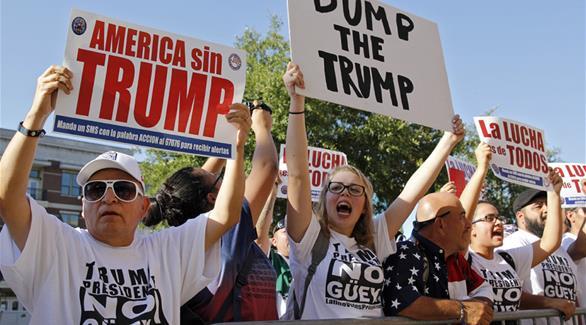 عشرات الآلاف يستعدون للتظاهر احتجاجاً على فوز ترامب