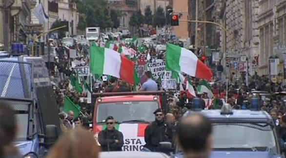 اخبار الامارات العاجلة 0201611130155384 الآلاف يحتجون على الإصلاح الدستوري في إيطاليا أخبار عربية و عالمية
