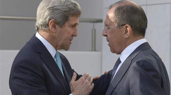 لافروف وكيري يتفقان على مواصلة التشاور حول سوريا