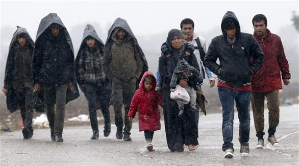 اخبار الامارات العاجلة 0201611140906925 مجموعة من المهاجرين عالقة على الحدود بين صربيا وكرواتيا أخبار عربية و عالمية