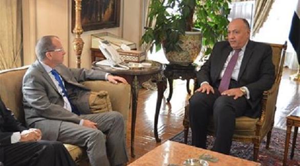 الخارجية المصرية لـ24: مصر تتحرك لحل الأزمة الليبية وفقاً لاتفاق الصخيرات