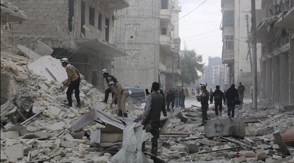 ارتفاع حصيلة القتلى جراء القصف على حلب إلى 67