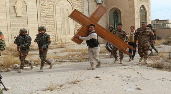 إعادة فتح كنيسة في بعشيقة بعد عامين من سيطرة داعش عليها