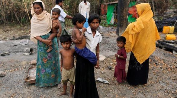 اخبار الامارات العاجلة 0201611210955878 مسلمو الروهينغا يبحثون عن مأوى من الحرب في بنغلادش أخبار عربية و عالمية
