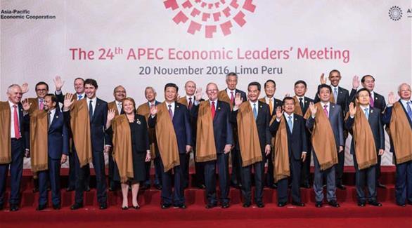 اخبار الامارات العاجلة 0201611211132357 قادة دول آسيا المحيط الهادىء يودعون أوباما ويعدون بمكافحة الحمائية أخبار عربية و عالمية